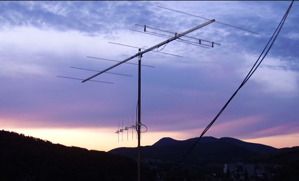 My spare 2 m antenna is a 7 element DL6WU